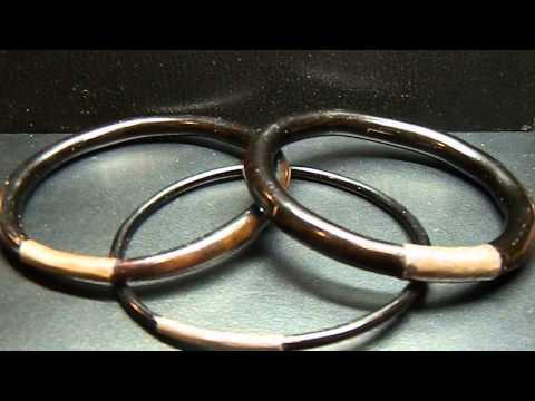 Black Coral Bracelets
