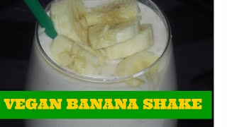 Banana And Coconut Smoothie (vegan)