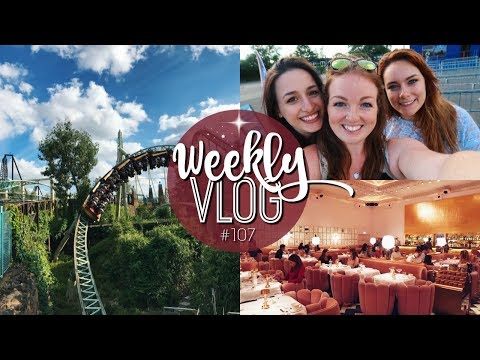WEEKLY VLOG #107 | SKETCH, NEW FOREST AQUA PARK & THORPE PARK! ♡ | Brogan Tate