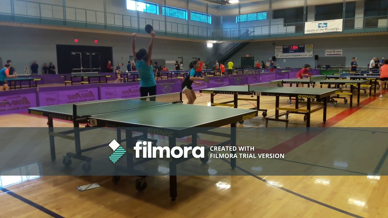 Hardbat/table Tennis, GA Games, Atlanta 2017
