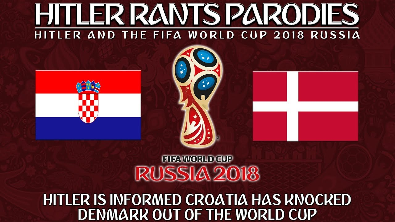 Hitler is informed Croatia has knocked Denmark out of the World Cup
