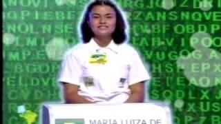 Maria Luiza no Soletrando