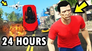 Can I SURVIVE for 24 HOURS in GTA Online?