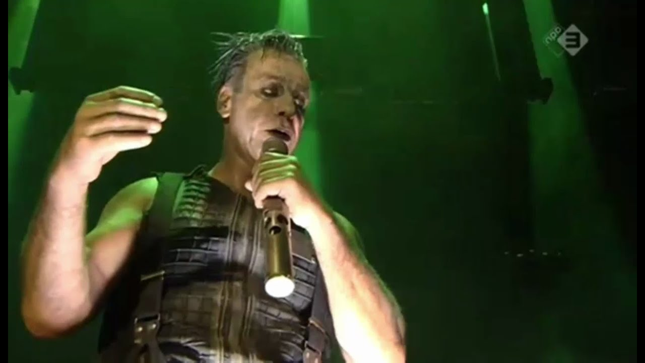 Download Rammstein - Du riechst so gut + Du hast live // Pinkpop 2016 proshot // 11.06.2016