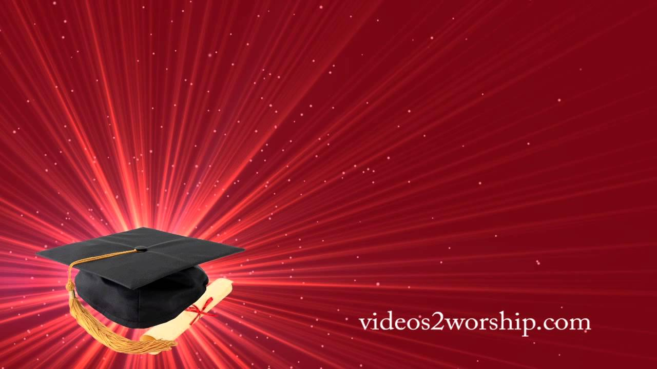 Graduation Motion Background Seamless Video