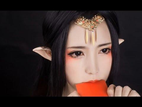 【Tình Tình】❀ Hướng Dẫn Makeup Cosplay Yêu Thần Cổ Trang  【汉服妆容】