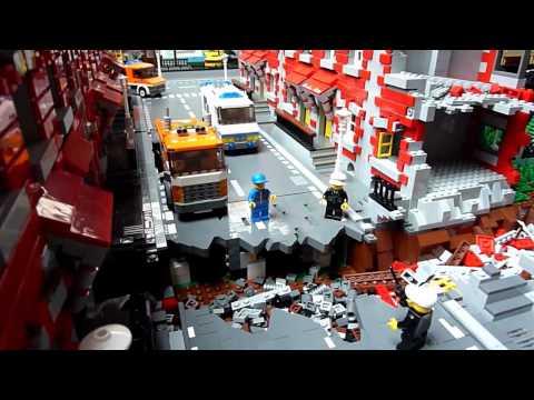 Lego train –  Model'Rail – Saint-Etienne 2012