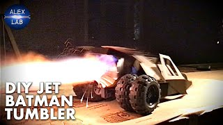 DIY Jet Batman Tumbler