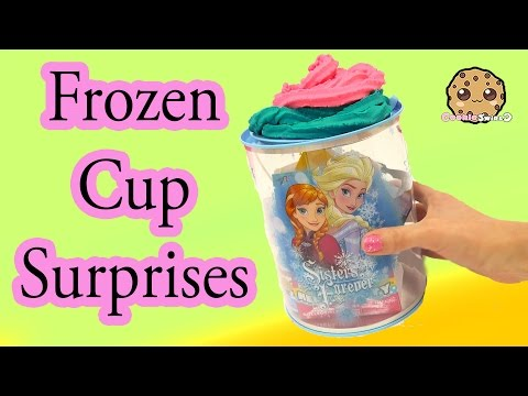 Disney Frozen Cup Filled Surprises From Shopkins, Handmade Blind Bags, Fashems + More - Cookieswirlc