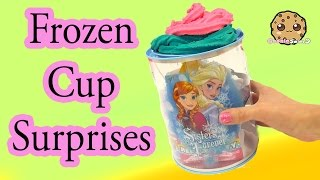 disney frozen cup filled surprises from shopkins handmade blind bags fashems more cookieswirlc