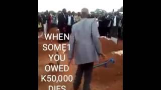 When someone you owed money dies