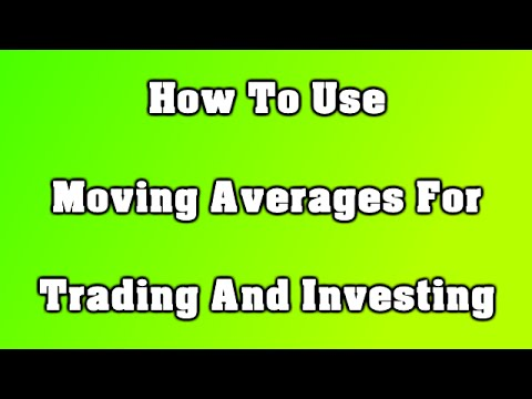 How To Use Moving Averages For Trading And Investing
