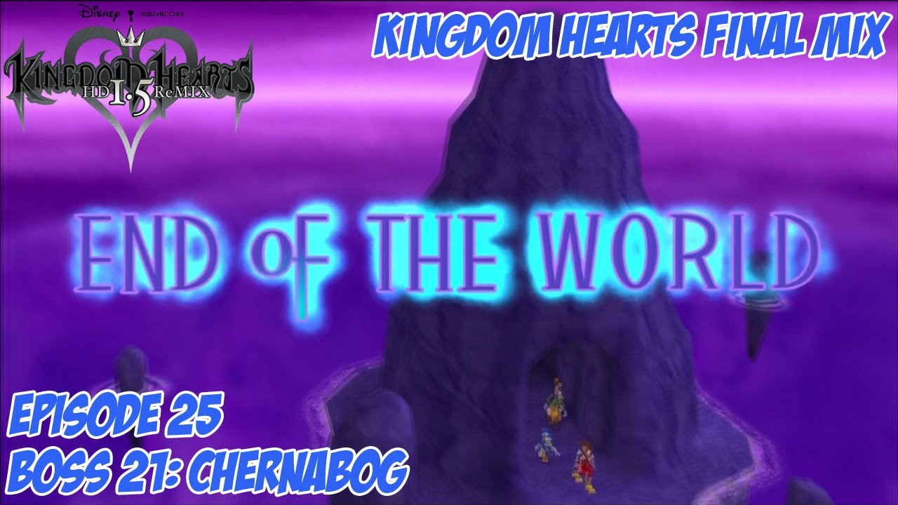 kingdom hearts 1.5 walkthrough end of the world