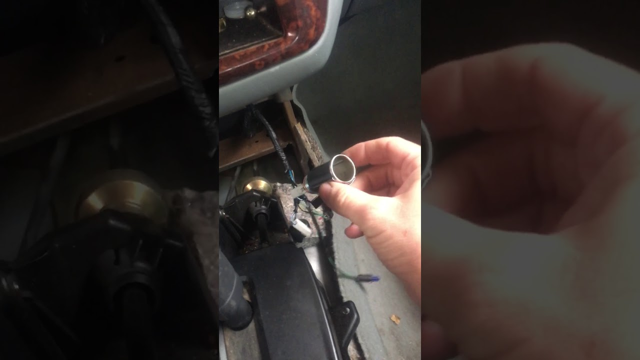 2001 Mitsubishi Galant Power Outlet Change Out Youtube Fuse Box