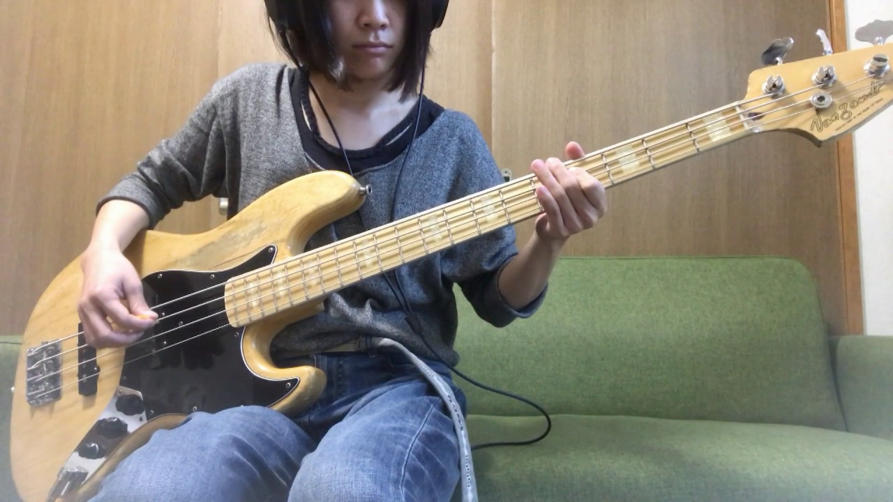 tricot how to play dedede on bass guitar youtube. Black Bedroom Furniture Sets. Home Design Ideas