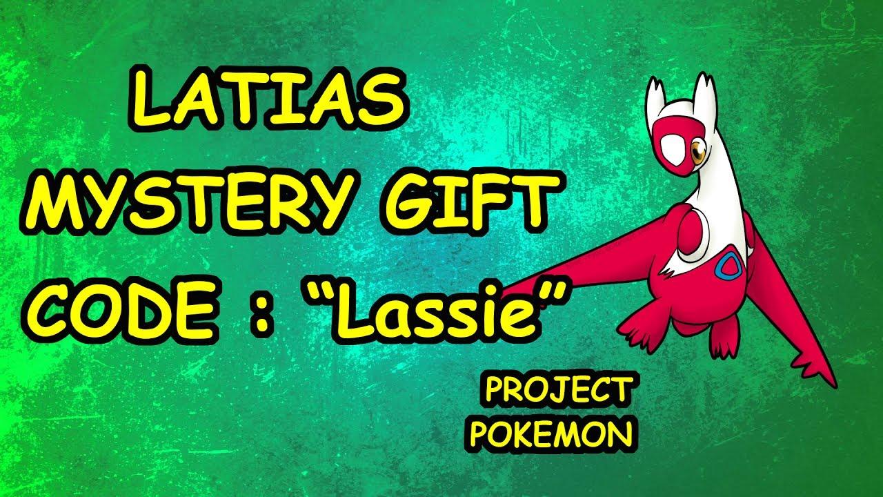 MYSTERY GIFT CODE - Project Pokemon - YouTube