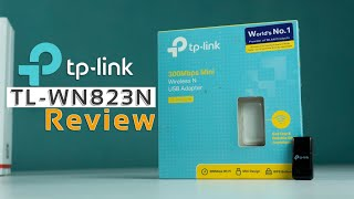 TPLINK TLWN823N 300Mbps Wifi Adapter review | Windows,Linux,Mac 2019 !!