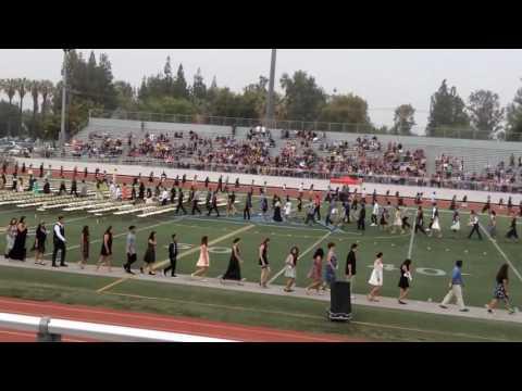 Chemawa Middle School, Riverside, California, Graduating Class 2016 Procession