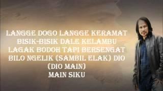 Langgam Pak Dogo + Lyrick-M.Nasir