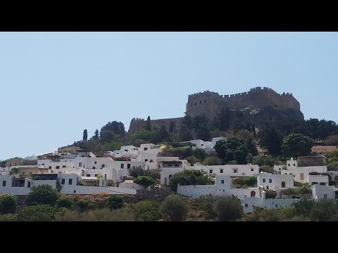 Travel around Rhodes Greece from the Cruise Port