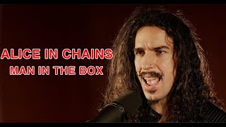 Alice In Chains - Man in the Box in the style of Synthwave