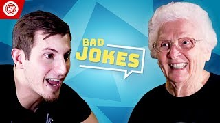 Ross Smith Vs. His Grandma | Bad Joke Telling