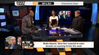 Is Steve Kerr Qualified To Coach     ESPN First Take