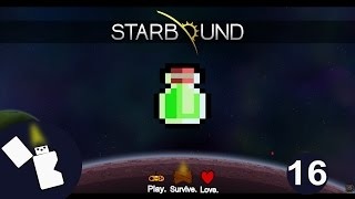 Starbound Survival - How to get poison resist - Episode 16