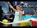 Kiki Bertens | 2019 Madrid Open | Top 5 Shots