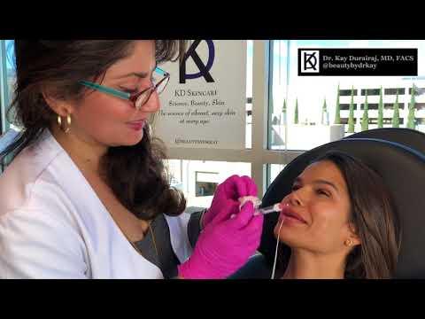 Lip Injections for Maxim Model, Victoria Bárbara