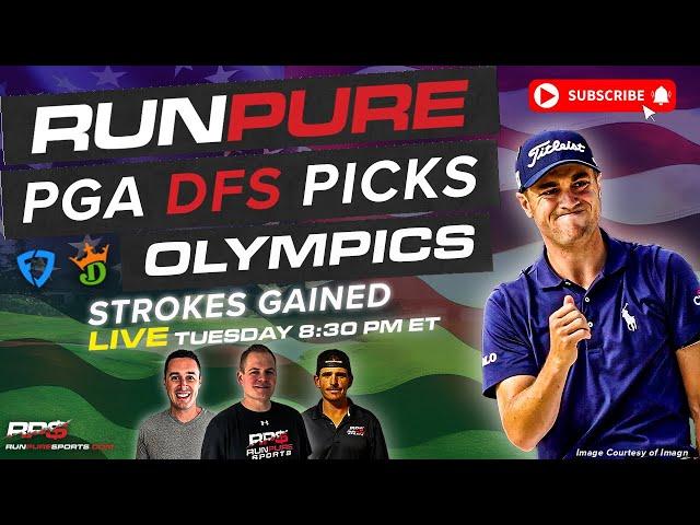 OLYMPICS DRAFTKINGS PGA PICKS - STROKES GAINED