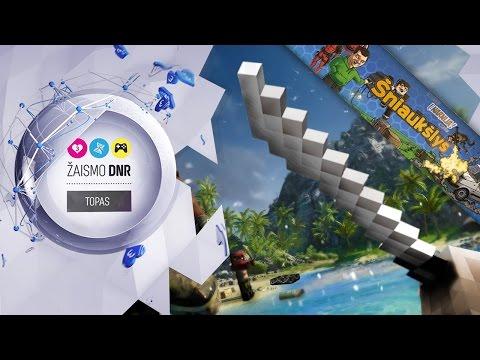 Šniaukšlio DNR - 5 Minecraft mini žaidimai...