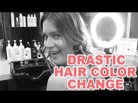 Changing my hair color for the first time in 10 years thumbnail