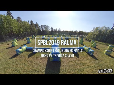Urho vs Trivoga Silver - Lower Finals - SPBL2019 Rauma