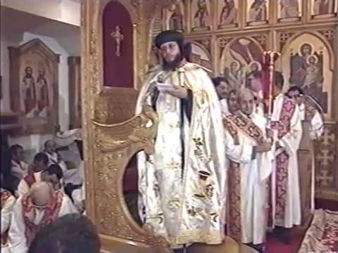 The Enthronement of His Grace Bishop Youssef - Evening Prayers Part 2