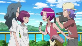 Pokémon XY Professor Sycamore x Sophie