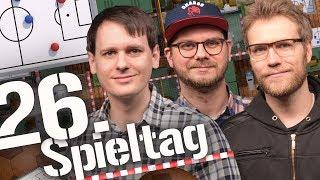 26. Spieltag der Fußball-Bundesliga in der Analyse | Saison 2017/2018 Bohndesliga