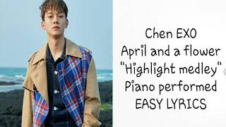 Download Chen exo (April and a Flower) | Easy Lyrics | Mp3