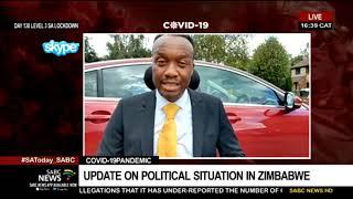 Update on political situation in Zimbabwe: Simba Chikanza
