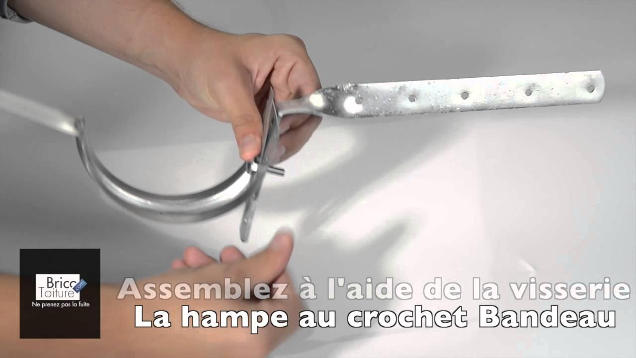 Comment Monter Un Crochet Sur Une Hampe Chantournee Youtube