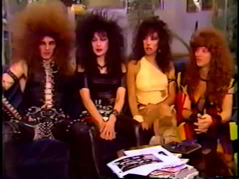 MADAM X - The video show interview (80's)