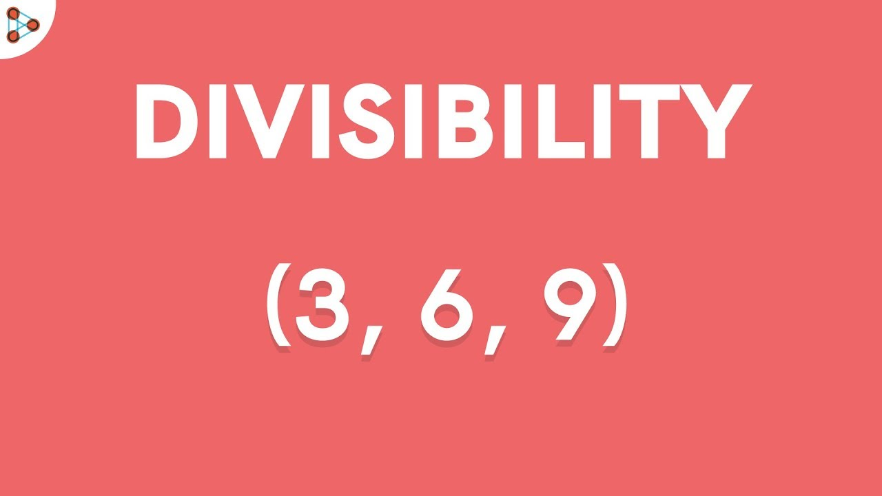 Divisibility Rules 3 6 and 9 YouTube – Divisibility Rules Worksheet