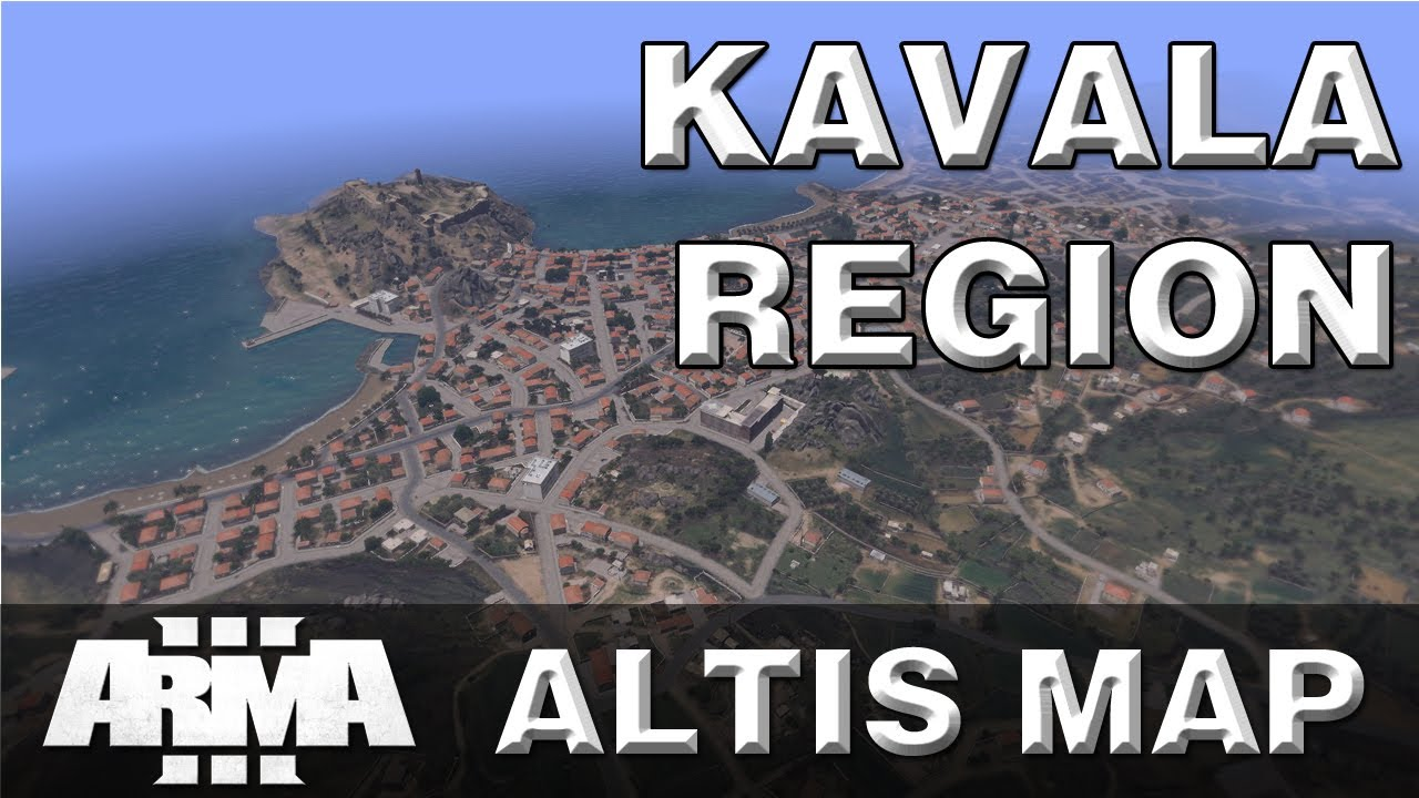 Arma 3 Covering Altis Kavala region NEW ARMA 3 MAP YouTube