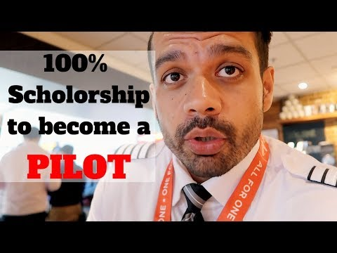 How to get 100% Scholarship for Pilot training ?👨‍✈️✈️