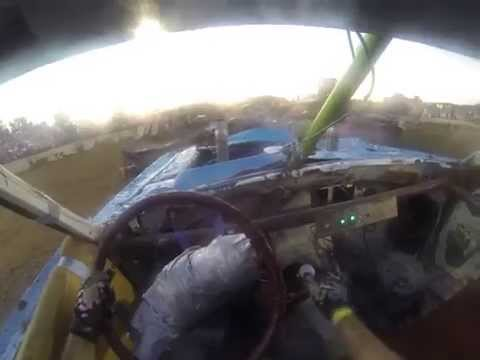 Bluffdale Utah Demolition Derby Final GoPro View