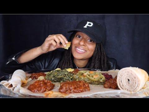 Ethiopian Food Mukbang | Can vegans be overweight?