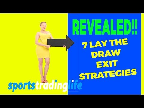 "REVEALED! 7 ""Lay The Draw"" Football Trading EXIT Strategies for Betfair!"