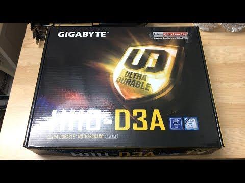 Gigabyte H110-D3A Unboxing | Gigabyte's In On The Mining Craze As Well