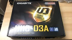 Gigabyte H110-D3A Unboxing | Gigabyte's in on the mining craze as well