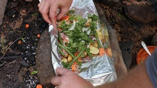 Ultimate Tin Foil Dinner - Easy Camping Meal